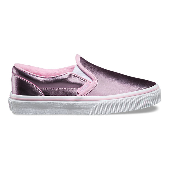 Kids Metallic Slip-On