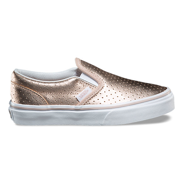 Kids Perf Leather Classic Slip-On
