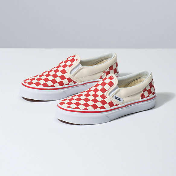Kids Primary Check Slip-On