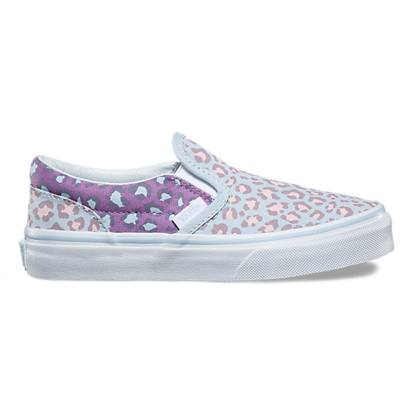 Kids 2-Tone Leopard Slip-On