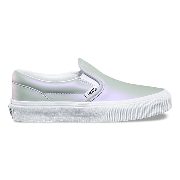 Kids Muted Metallic Slip-On