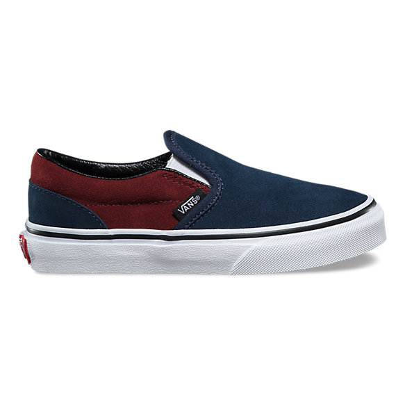 Kids Suede Slip-On