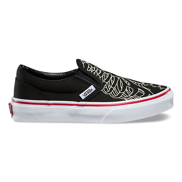 Kids Skeleton Slip-On