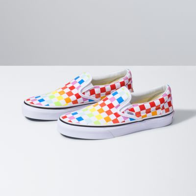 56ffb2f268 Kids Checkerboard Slip-On