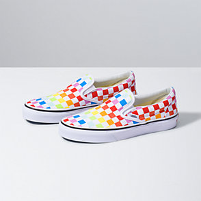 vans slip on kids