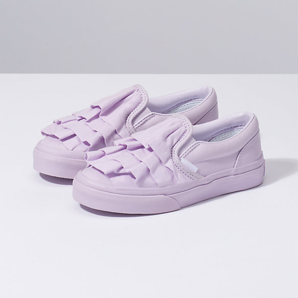 Kids Ruffle Classic Slip On