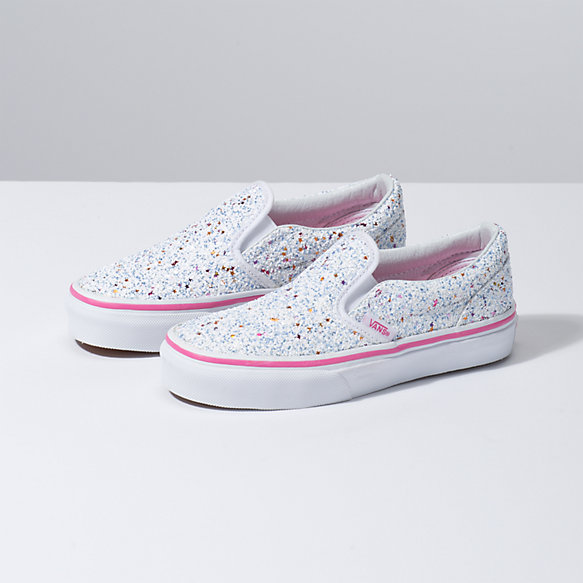 38bcb0d25e99 Kids Glitter Stars Slip-On