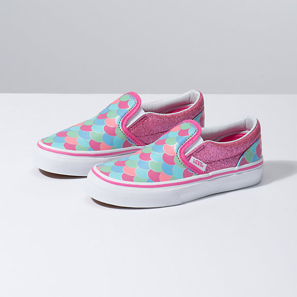95383c7698 Kids Mermaid Scales Slip-On