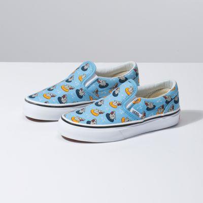 21caeb4ead92 Vans Kids Floatie Sharks Slip-On