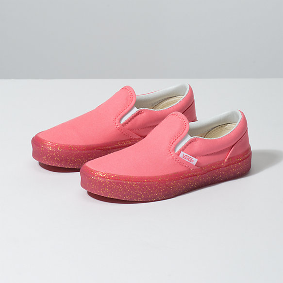 Kids Glitter Outsole Slip-On