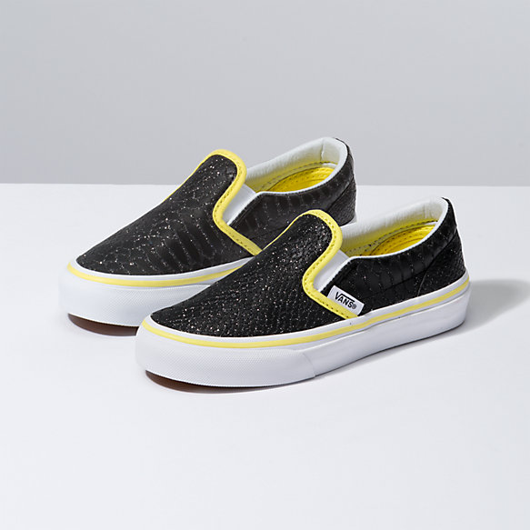 Kids Sparkle Snake Slip-On