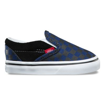 toddler checkerboard slip on shop toddler shoes at vans. Black Bedroom Furniture Sets. Home Design Ideas