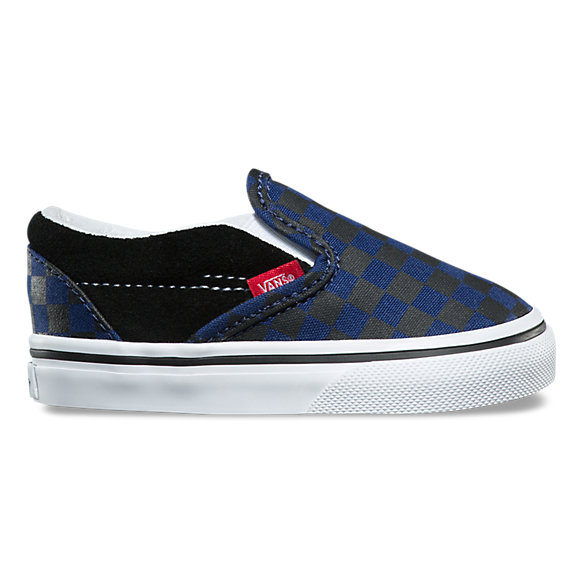 vans slip on checkerboard bekas
