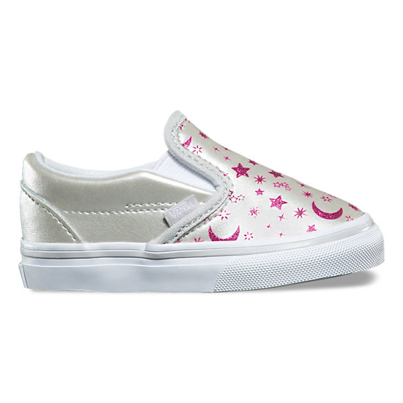 Toddler Star Glitter Slip-On