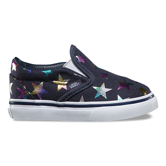Toddlers Foil Stars Slip-On