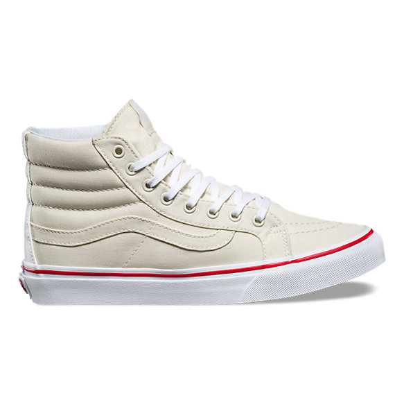 8f4e7f43a2 Leather Canvas SK8-Hi Slim
