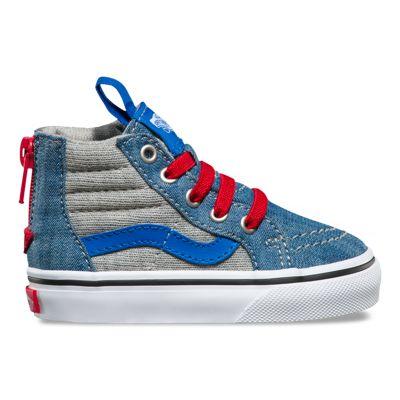 Vans Sk Hi Imperial Blue White Skate Shoes