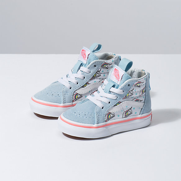 Toddler Unicorn Sk8-Hi Zip
