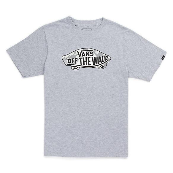 Boys otw logo fill t shirt shop at vans for Banded bottom shirts canada