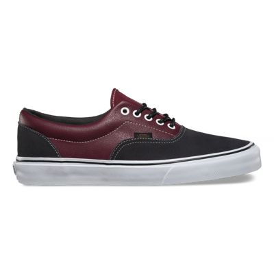 Women's Sneakers/vans leather suede era port royale asphalt dw3a89h1