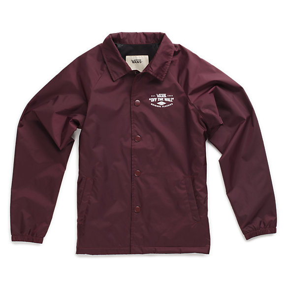 Boys Torrey Coaches Jacket Vans Ca Store
