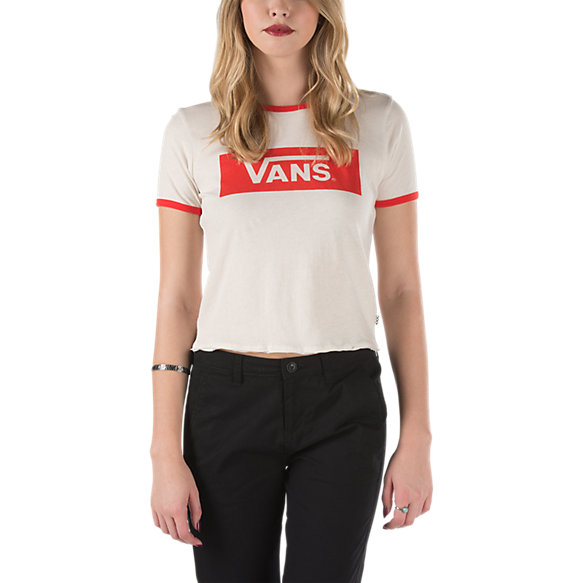 V-Tangle Cropped T-Shirt | Shop Womens Shirts At Vans Vans T Shirt For Girls
