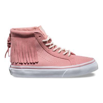 Kids Suede Sk8 Hi Moc Shop Girls Shoes At Vans