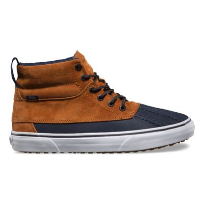 Comfortable Vans Sk8 Hi Del Pato Mte Shoes Men Matte Black V245164