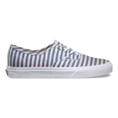 VANS AUTHENTIC STRIPES NAVY MEN UNISEX SHOES 3B94IN [U60l2233]