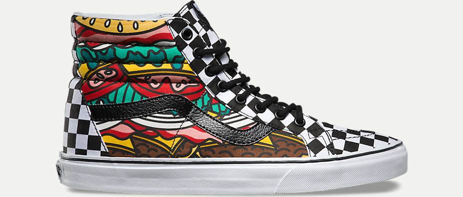 vans hamburger