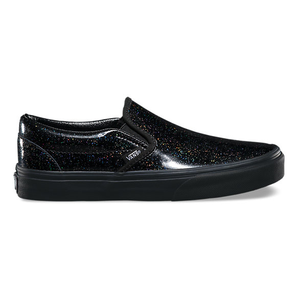 vans authentic black patent leather shoes nz