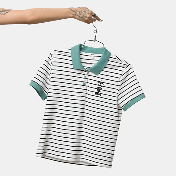 Fabiana Stripe Polo Shirt