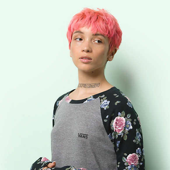 Flower Friend Raglan Tee