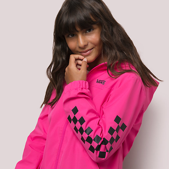 Girls Kastle Classic Windbreaker Jacket