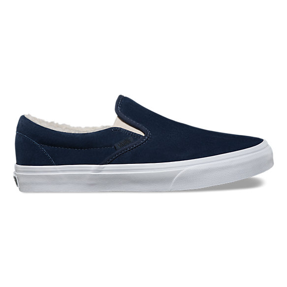 8cbf691a86def7 Suede Fleece Slip-On