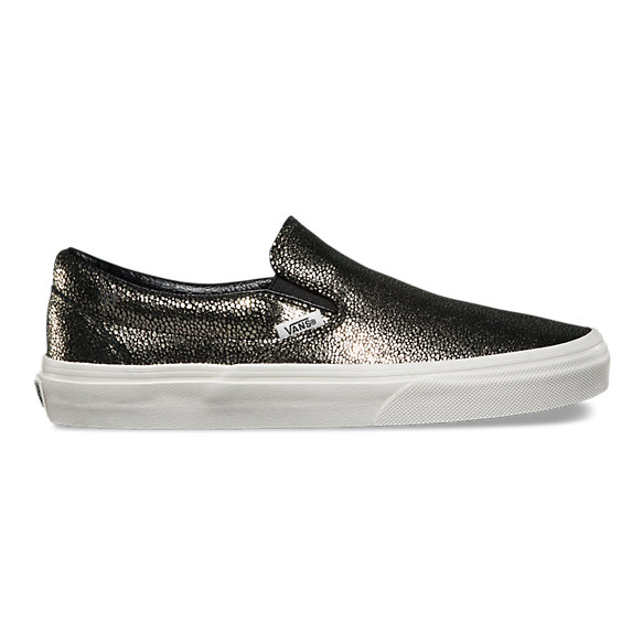Gold Dots Slip-On