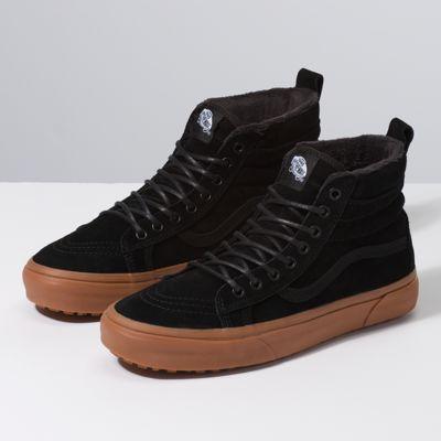 black suede gum vans