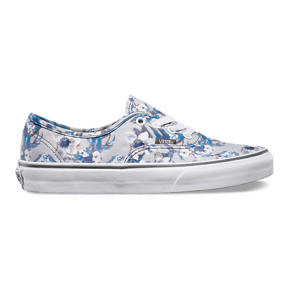 Blurred Floral Authentic | Shop Womens Shoes At Vans
