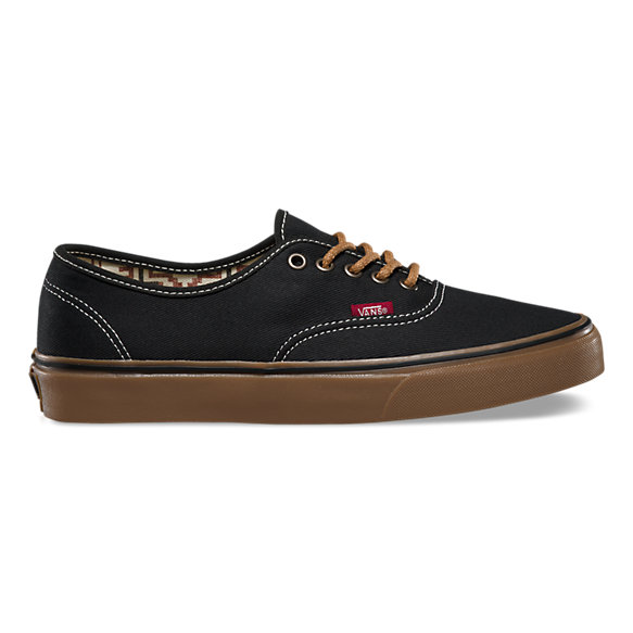 vans authentic california black gum nz