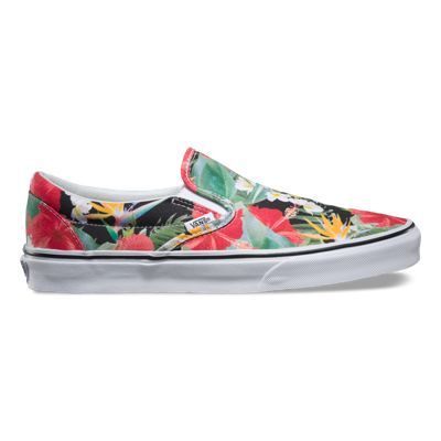 Vans Classic Slip On Digi Aloha Hawaain Canvas Unisex Mens Womens Plimsolls