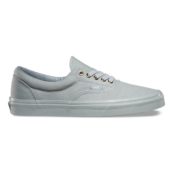 vans authentic leather silver sneakers nz