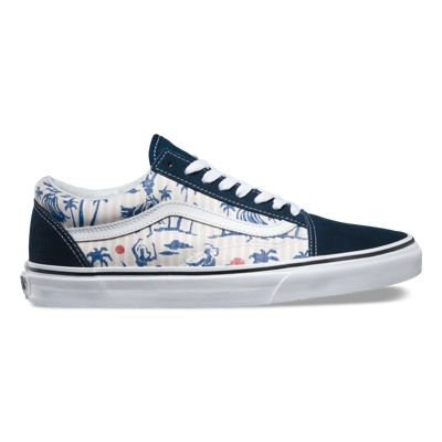 Vans Men Old Skool Hula Stripes shoes shoes Clients First