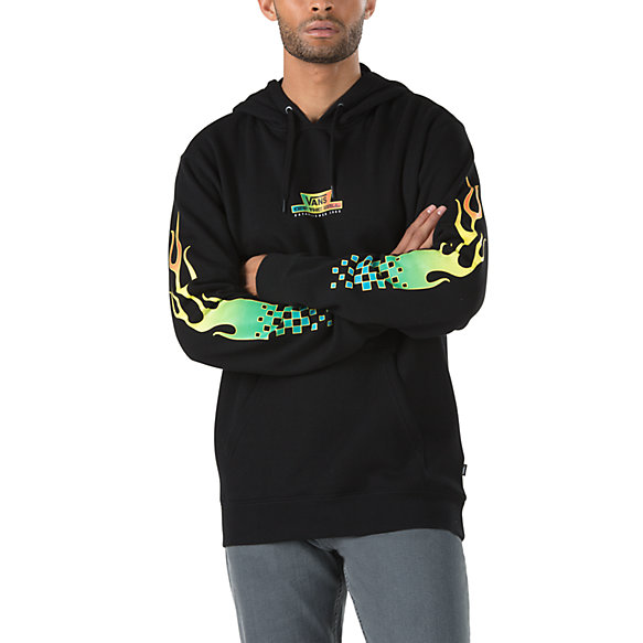 Glow Flame Pullover Hoodie