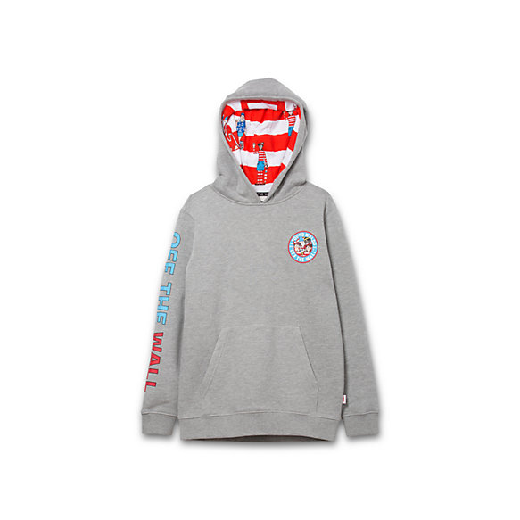 Vans X Where's Waldo? Boys Pullover Hoodie