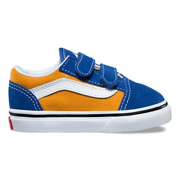 Vans Vans Old Skool (Pop) V og blue/gold 4SCvGQg9