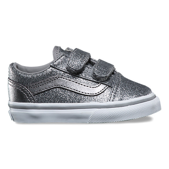 Toddlers Glitter Metallic Old Skool V