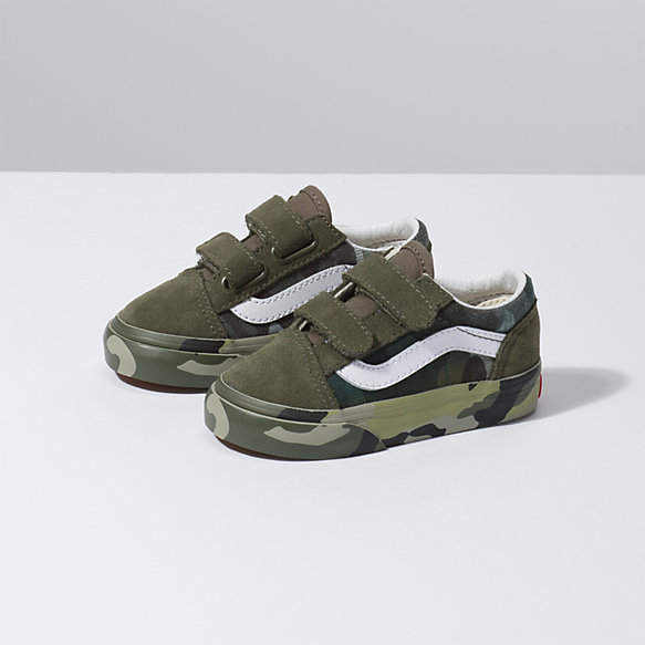 Toddler Plaid Camo Old Skool V