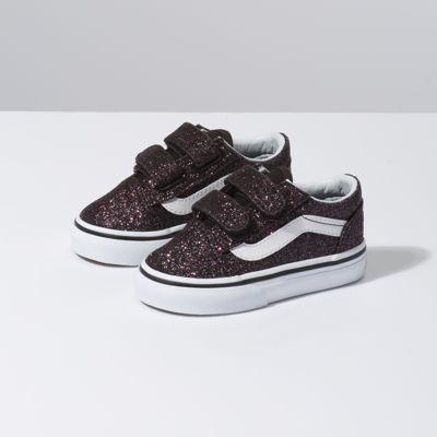 a76fdc09 Kids Glitter Stars Old Skool   Vans CA Store