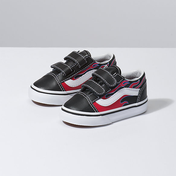 Toddler Moto Flame Old Skool V