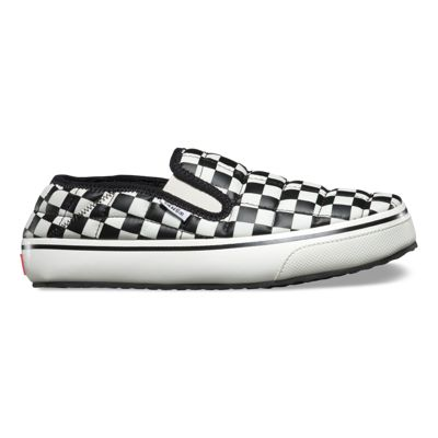 Women's Checkerboard Slip-ER Black/White